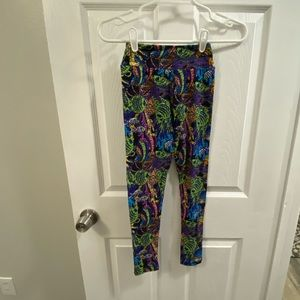 TWEEN Lularoe fish leggings